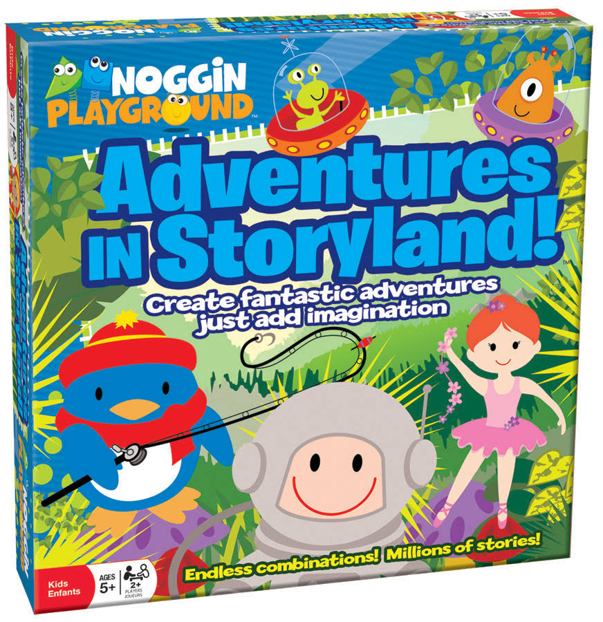 Noggin Playground's Adventures in Storyland Educational Game