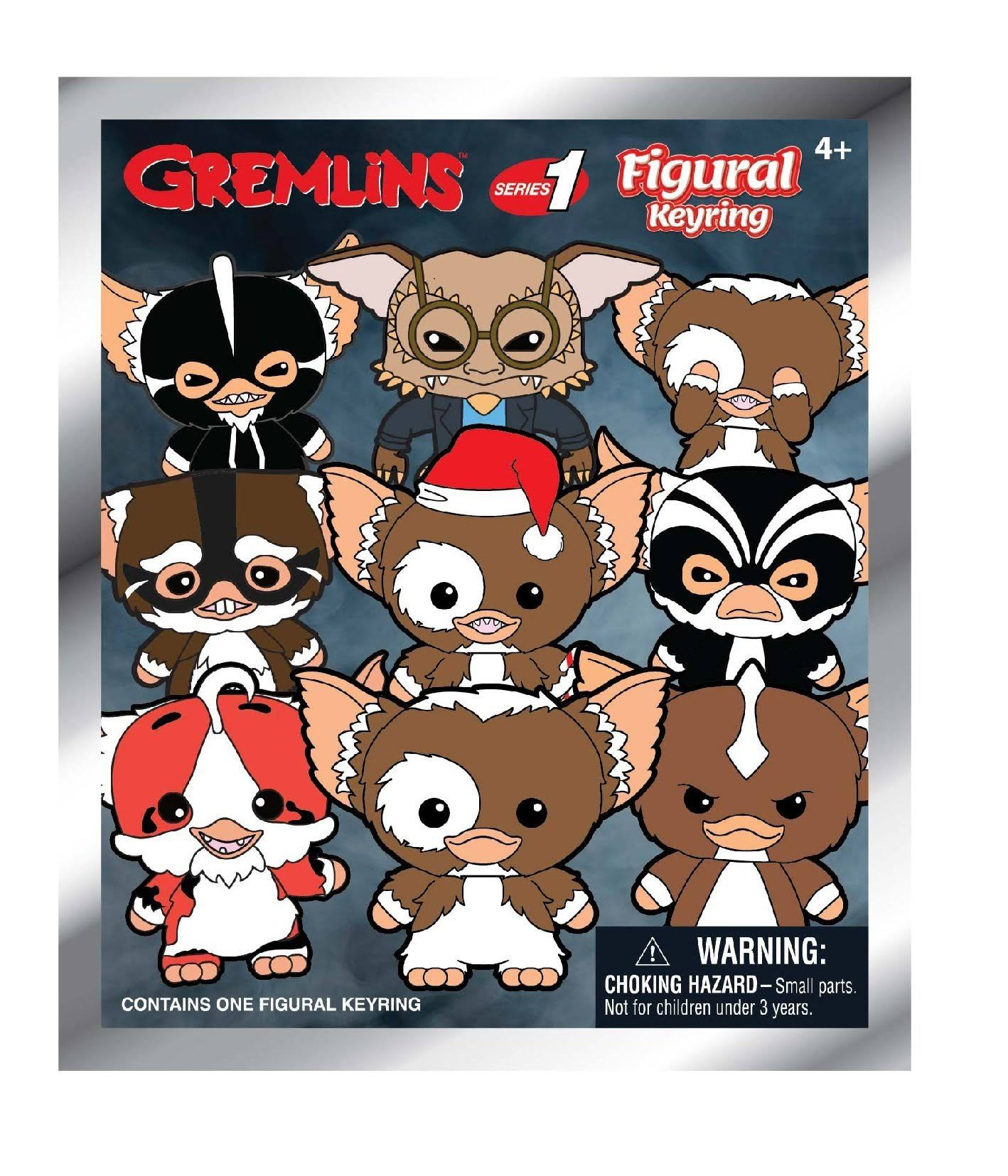 Monogram Gremlins Series 1 3d Figure Foam Key Ring