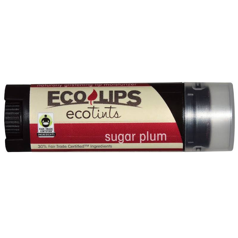Eco Lips Eco Tints Moisturizing Lip Balm - Sugar Plum, 0.15 oz