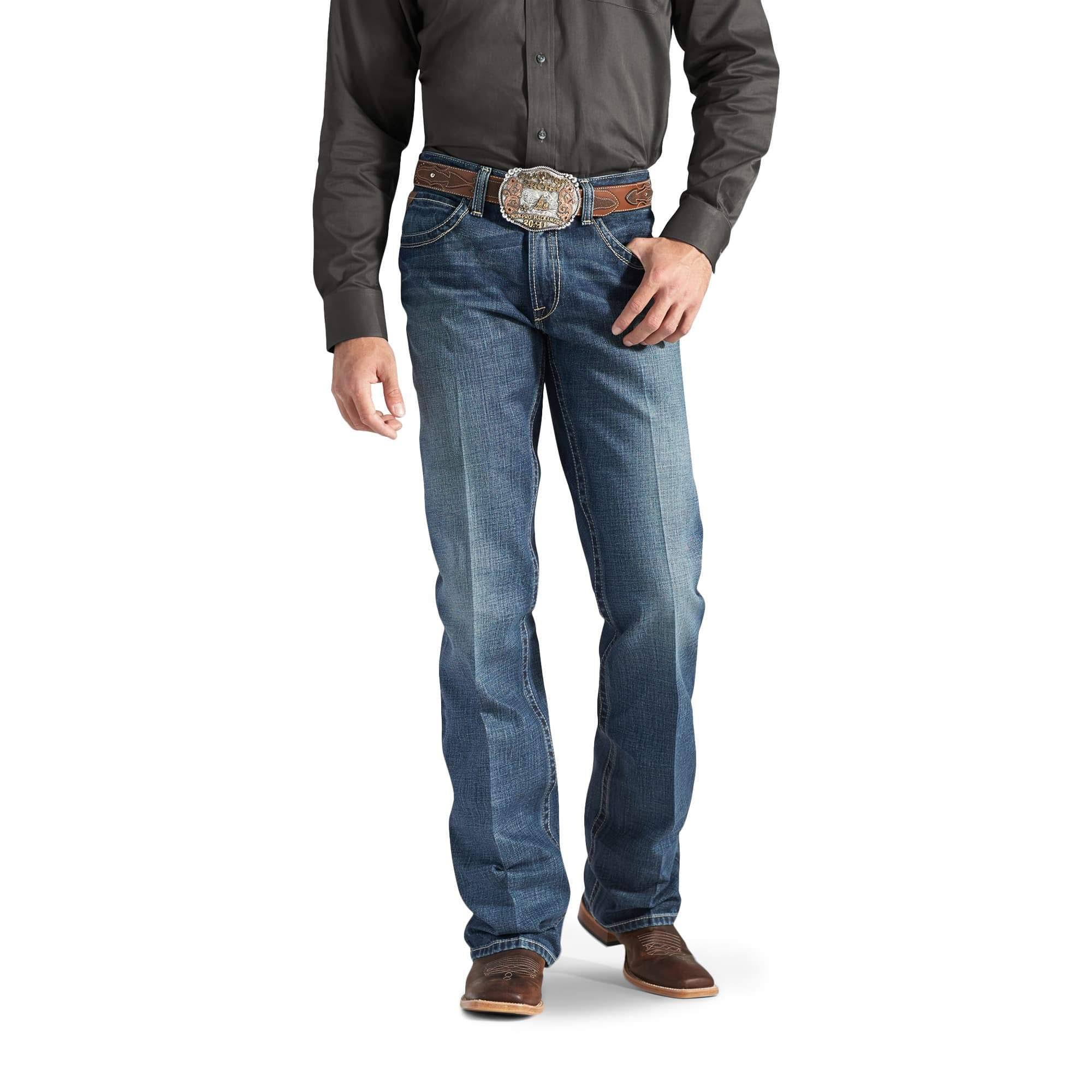 Ariat Men S M4 Low Rise Boot Cut Jean - Gulch