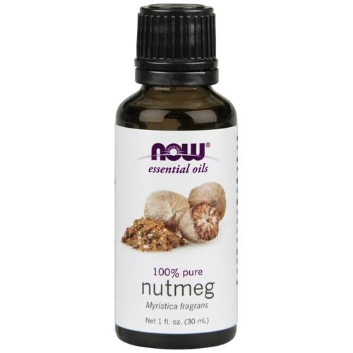 Now Foods Pure Nutmeg Oil - 30ml