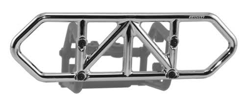 RPM 80123 Traxxas Slash Rear Bumper - Chrome, 4x4
