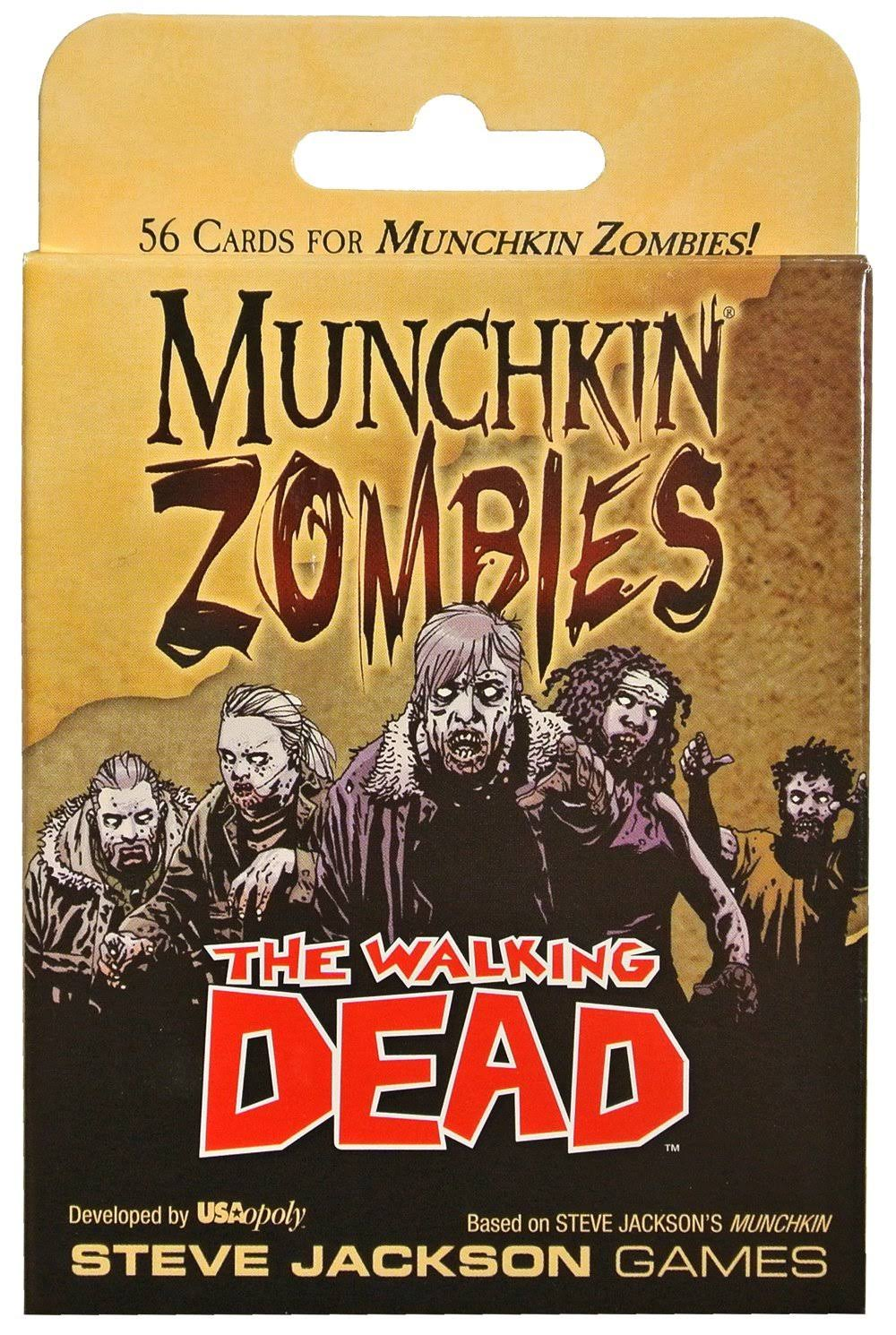 Munchkin Zombies Card Game The Walking Dead Expansion Pack