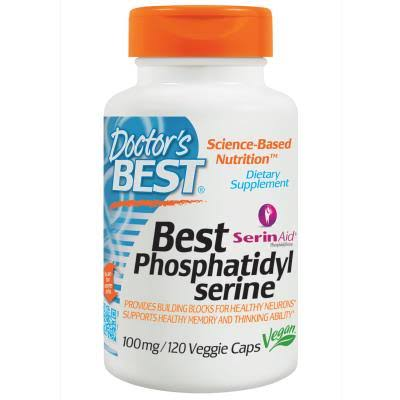 Doctor's Best Best Phosphatidyl Serine - 100mg, 60ct