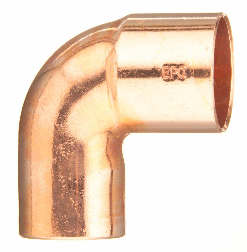 "Elkhart Copper St Elbow - 3/4""x90 Degree"