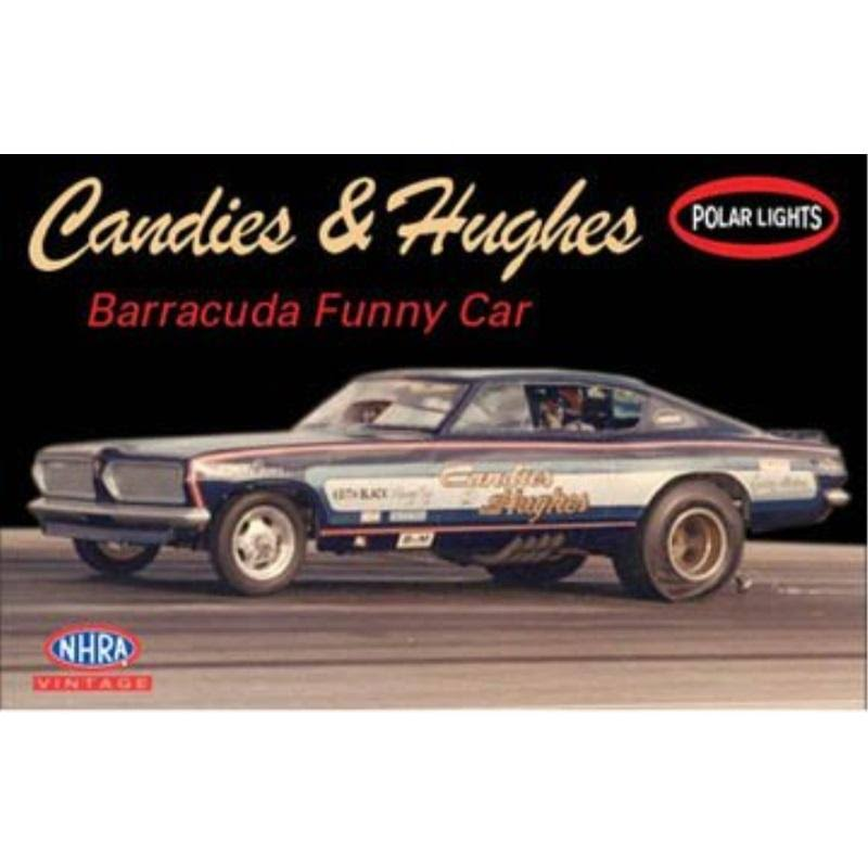 Candies & Hughes Car Model Kit - Barracuda Funny Car