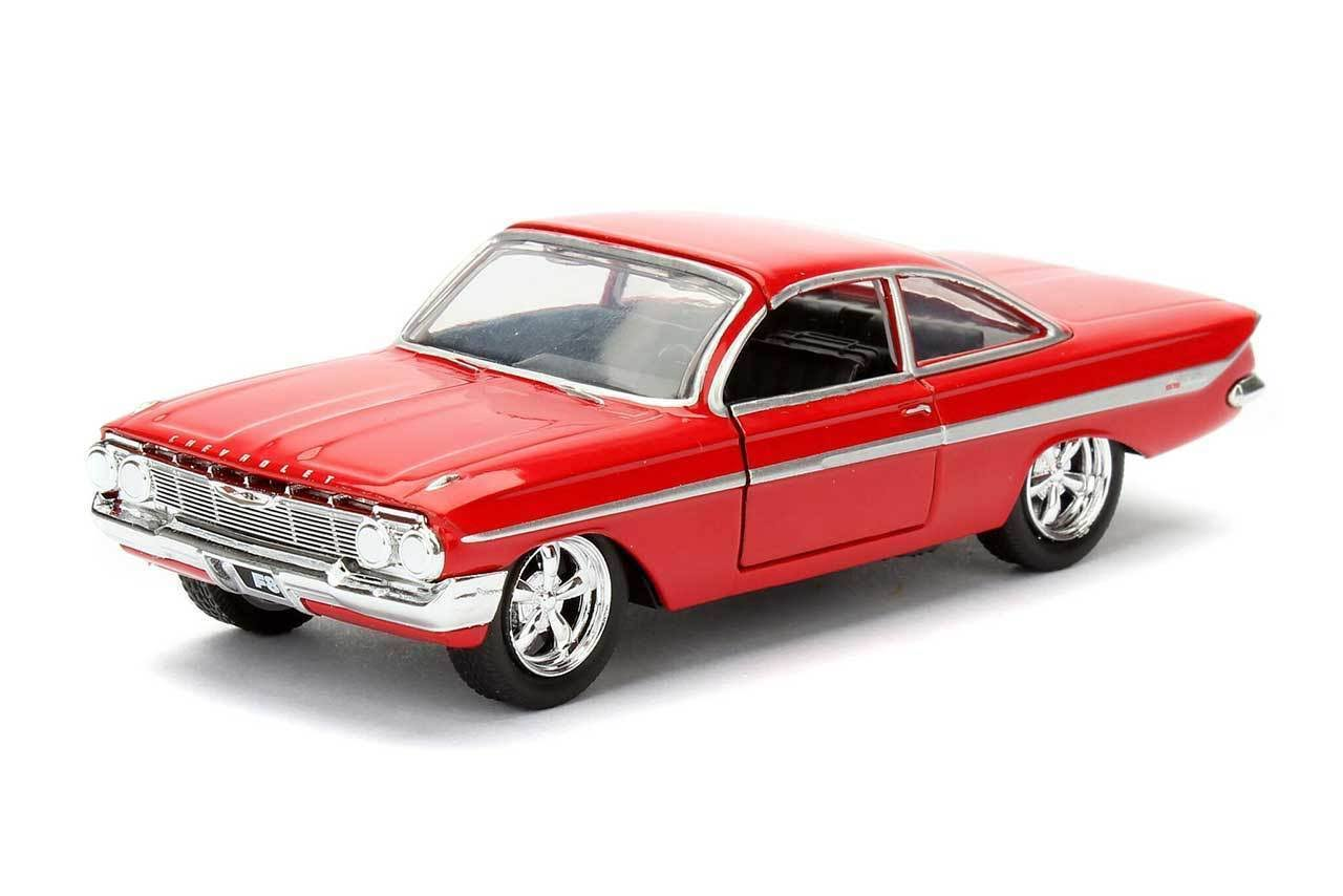 Jada Toys Fast & Furious Dom's 1961 Chevy Impala 1:32 Scale Model