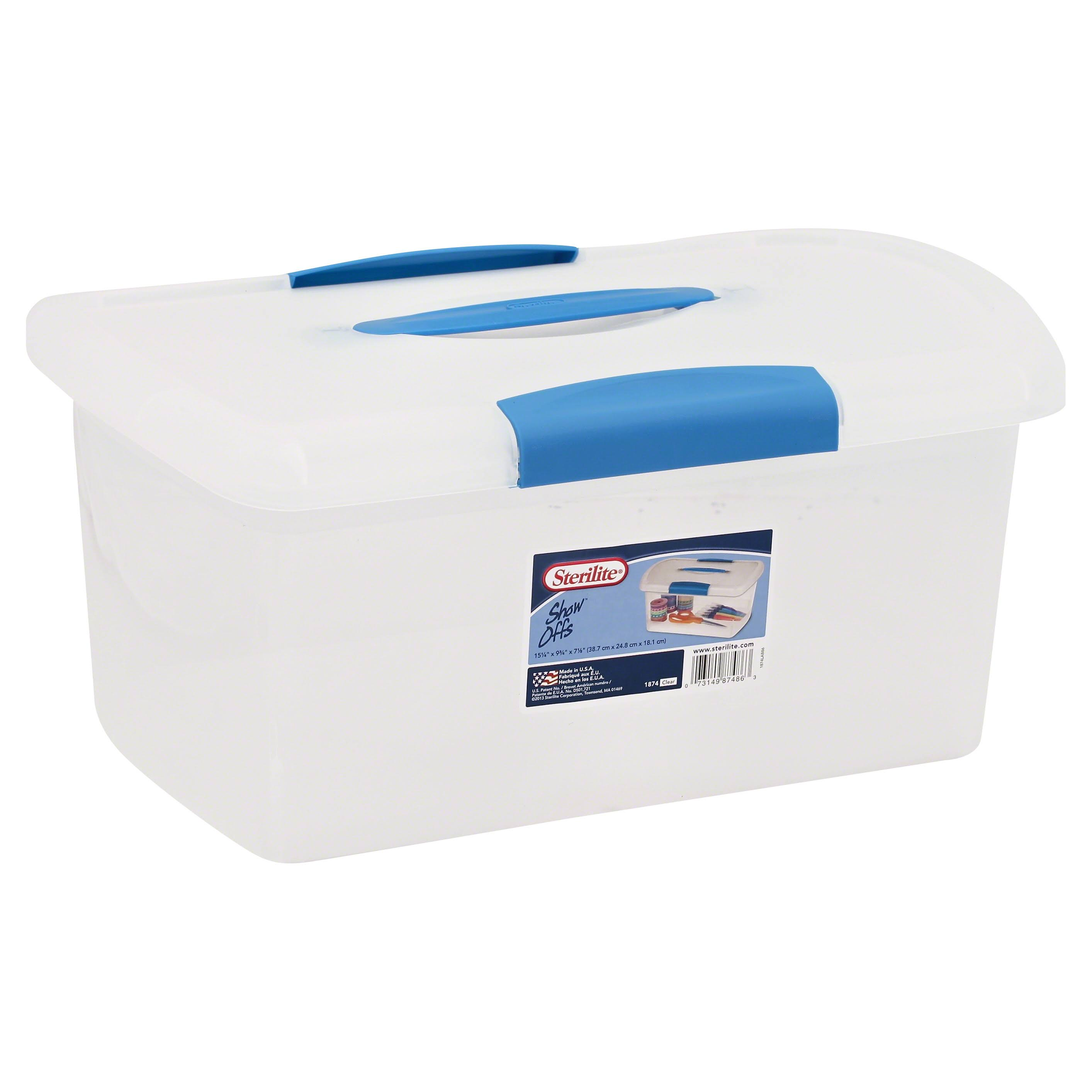 Sterilite Storage Box - Medium, Clear