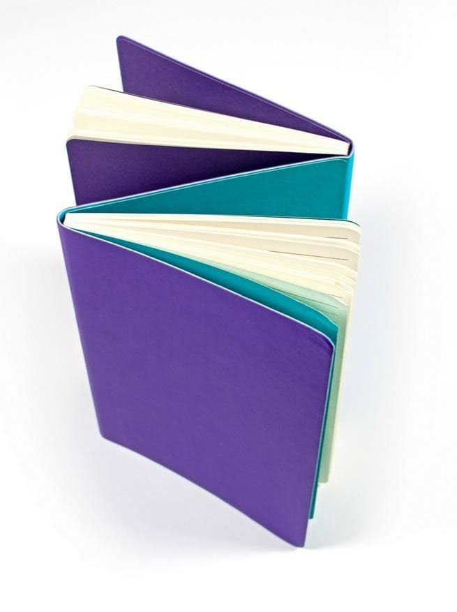 Ooly The Flipside Double Sided Notebook - Purple