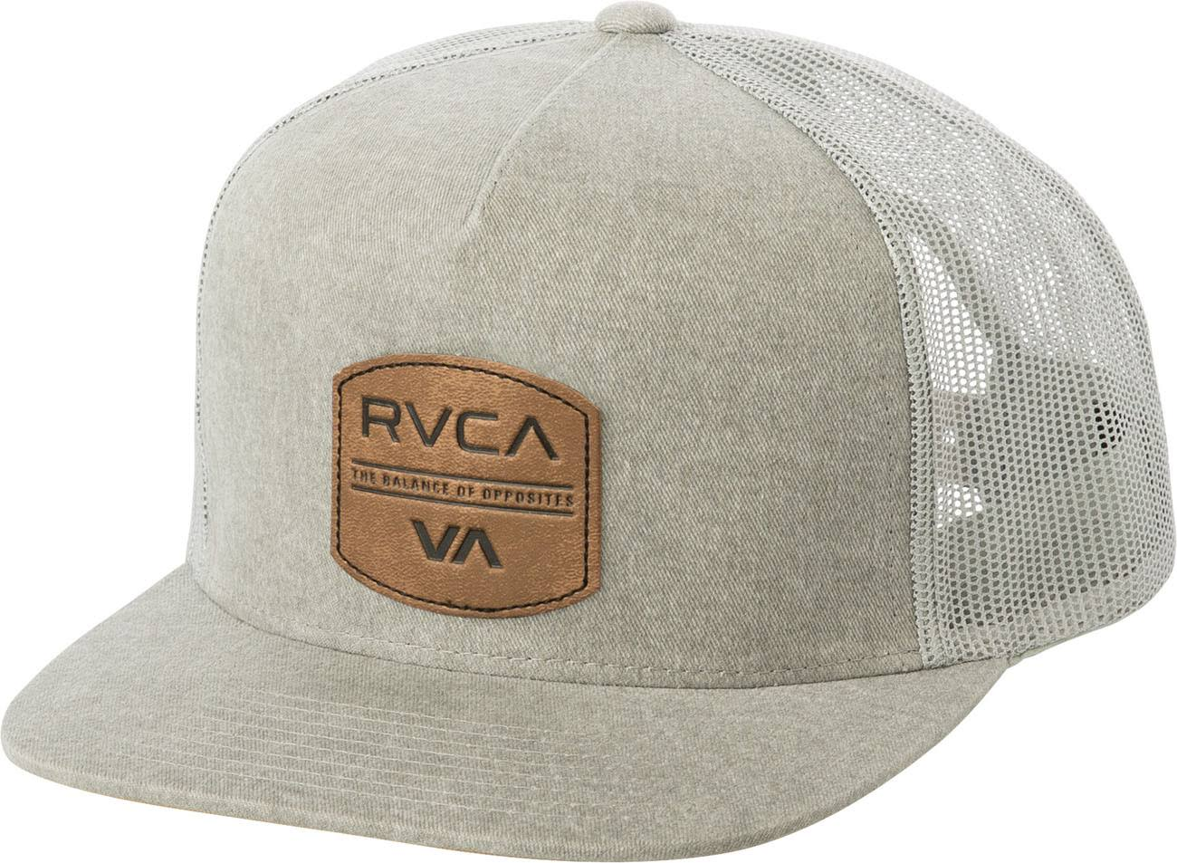 RVCA Denim Trucker Hat Grey