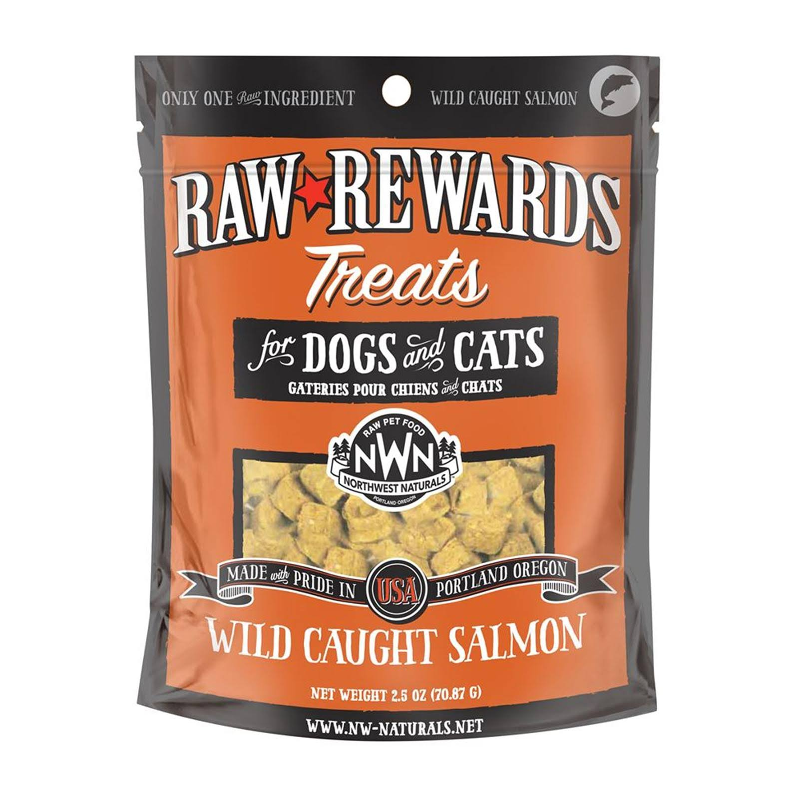 Northwest Naturals Raw Rewards Pet Treats - Wild Caught Salmon