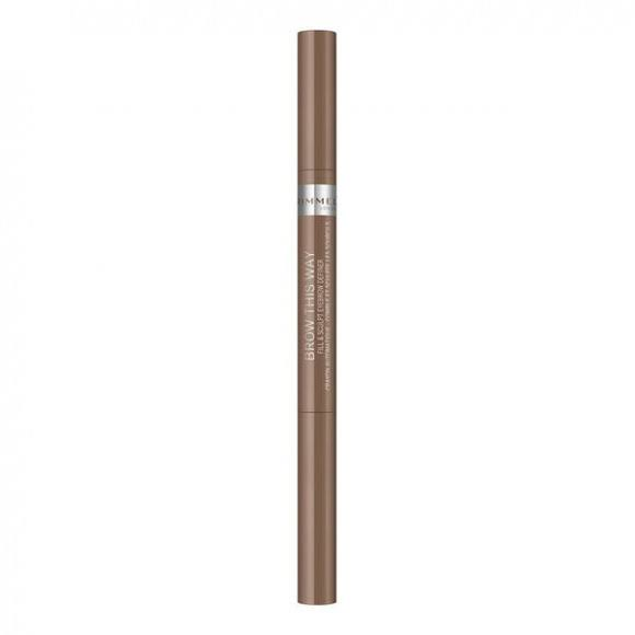 Rimmel Brow This Way Fill and Sculpt Eyebrow Definer - #001 Blonde