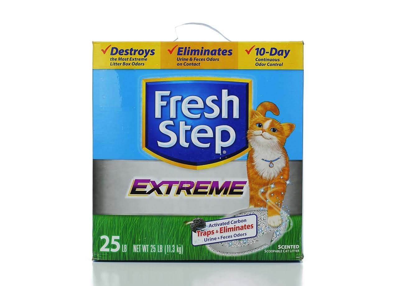 Fresh Step Febreze Freshness Extreme Clumping Cat Litter - 25lb