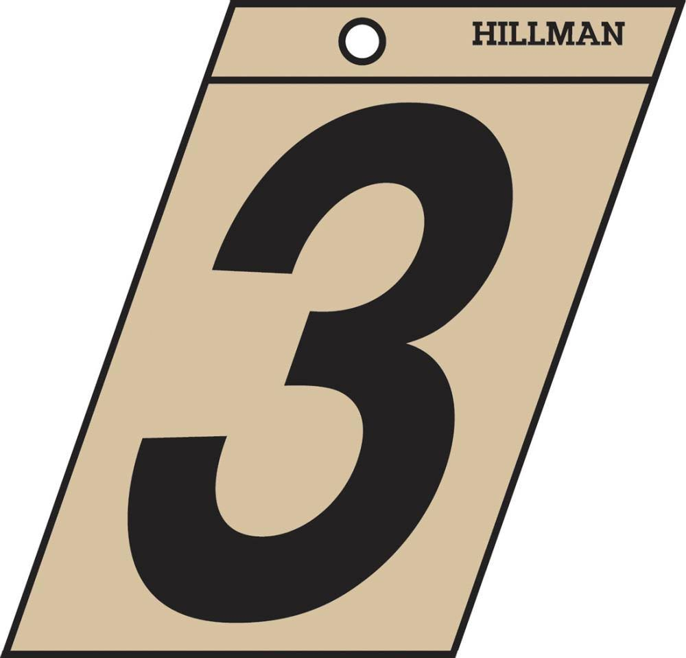 The Hillman Group 839144 1-1/2 In. Black & Gold Mylar - 3