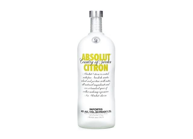 Absolute Citron Vodka