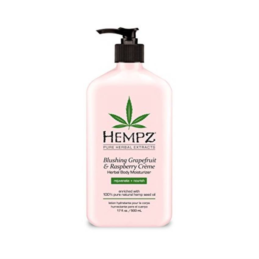 Hempz Herbal Body Moisturizer - Blushing Grapefruit & Raspberry Crème, 500ml