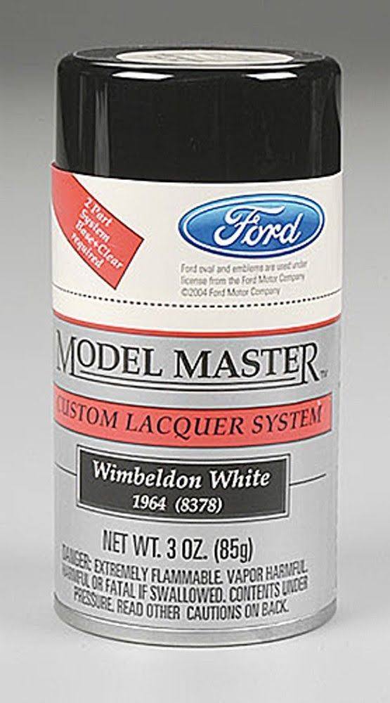Testors Model Master Spray White 3 oz 28132