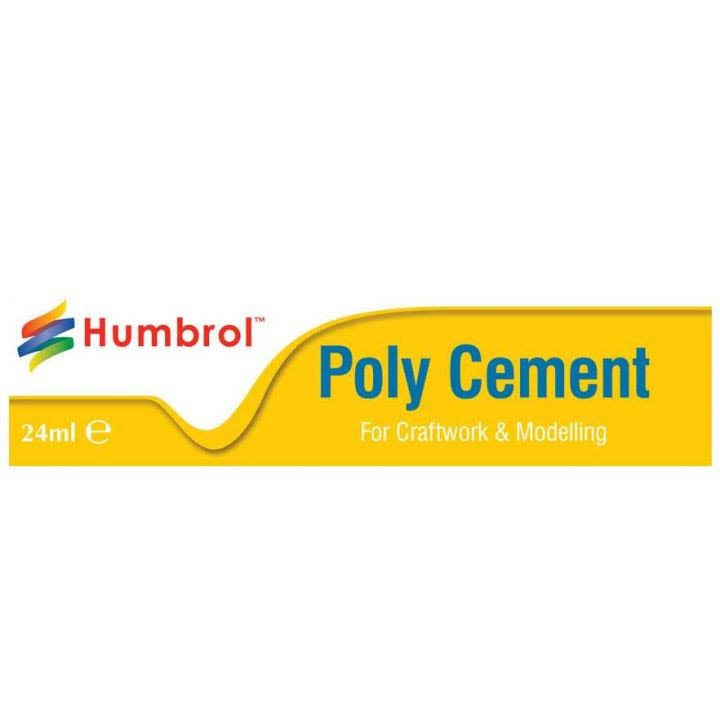 Humbrol Poly Cement Adhesive - 24ml