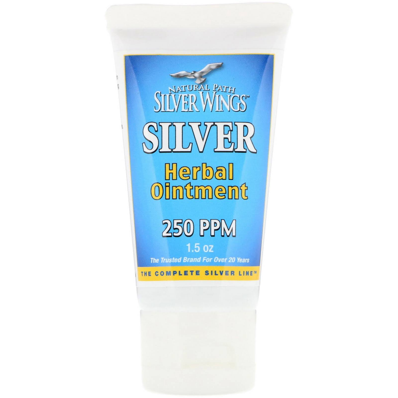 Natural Path Silver Wings Silver Herbal Ointment - 1.5oz