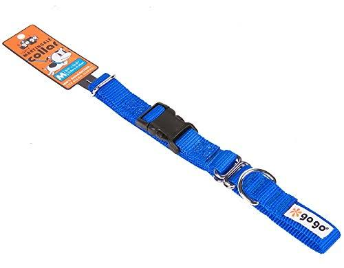 "Gogo 15123 Martingale Collar - Medium, Blue, 0.75""x16-21"""