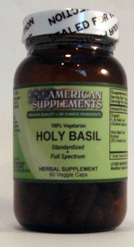 American Supplements Holy Basil - 60 VegCap