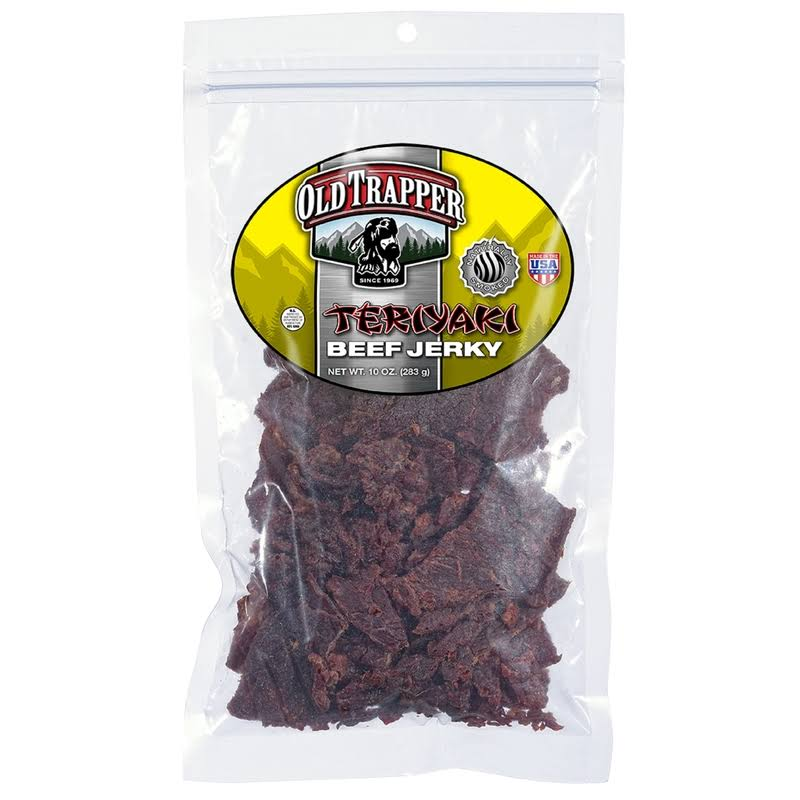 Old Trapper Teriyaki Beef Jerky - 10oz