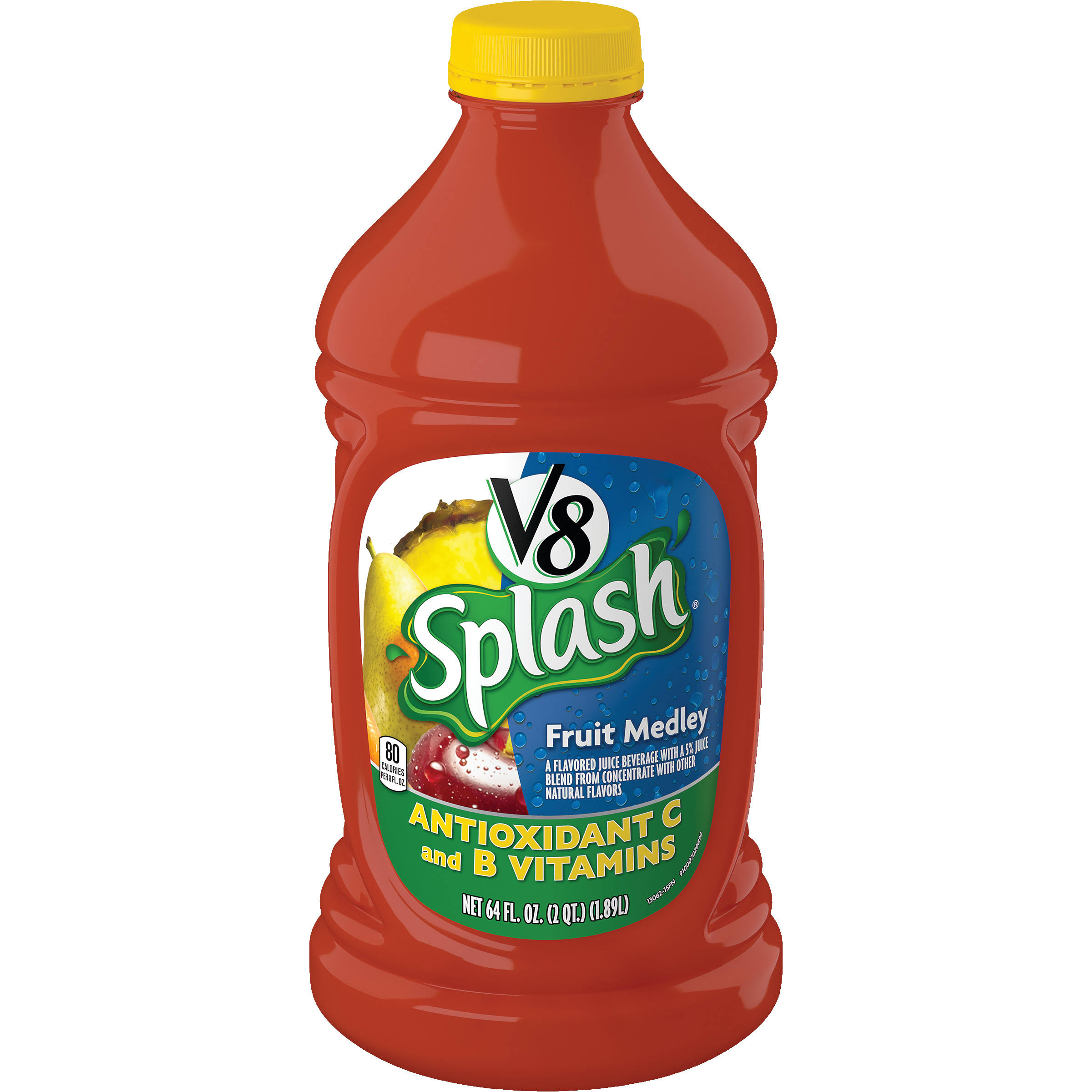 V8 Splash Drink - Fruit Medley, 1.89l