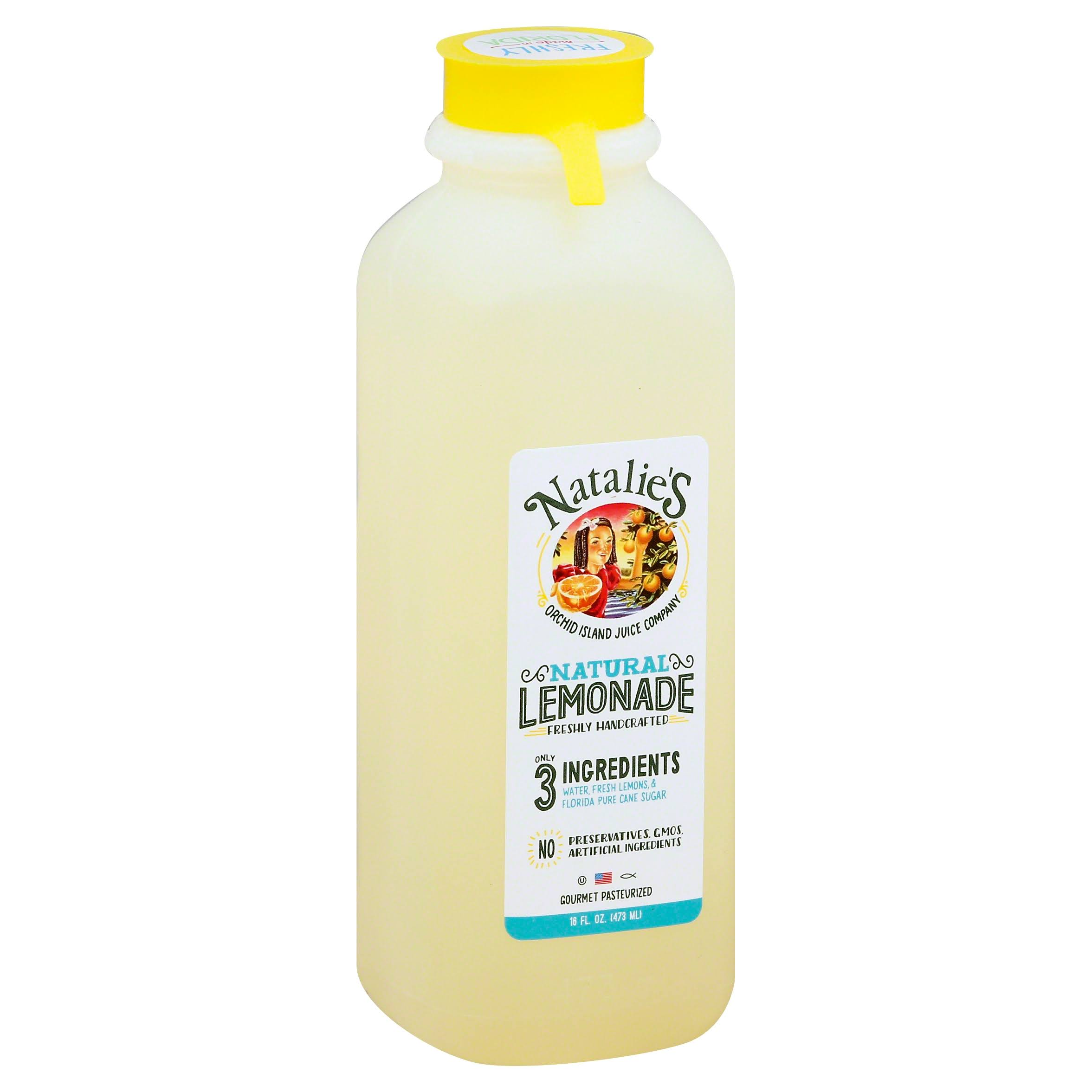 Natalie's 100% Hand Crafted All Natural Lemonade - 16oz