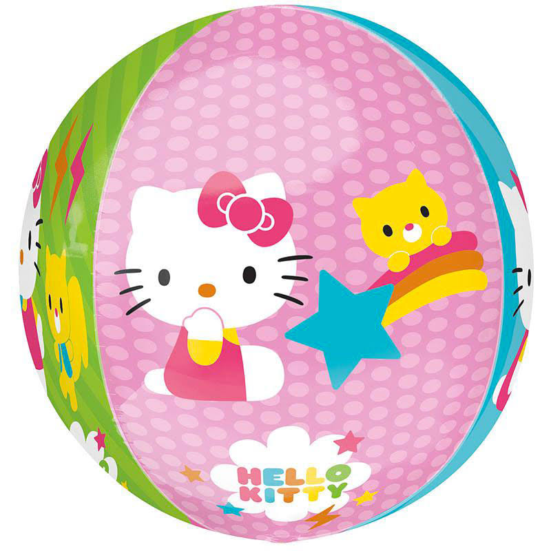 Amscan Orbz Hello Kitty Foil Balloon - 38cm