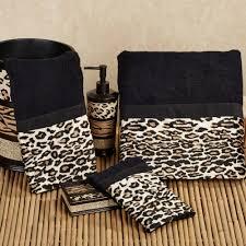 Animal Print Bathroom Sets Uk by Leopard Print Bathroom