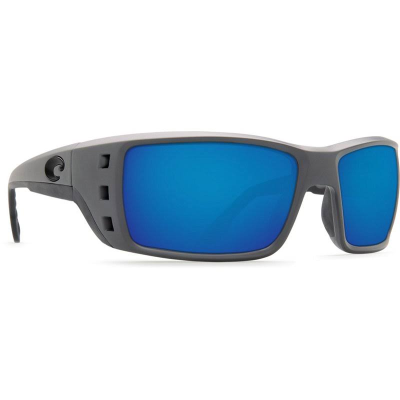 Costa Del Mar Permit Matte Gray Blue Mirror 580G