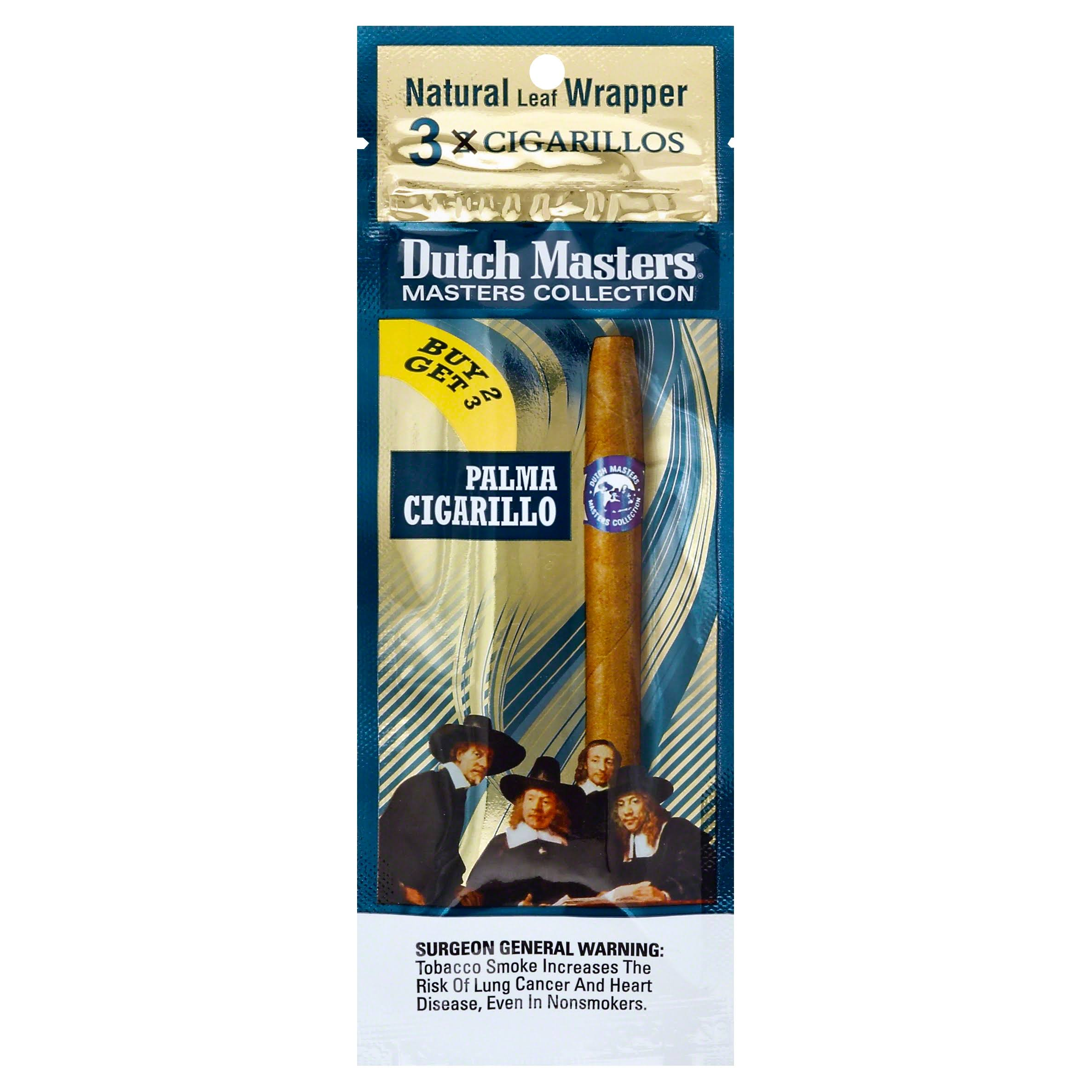 Dutch Masters Masters Collection Cigarillos - 3 cigarillos