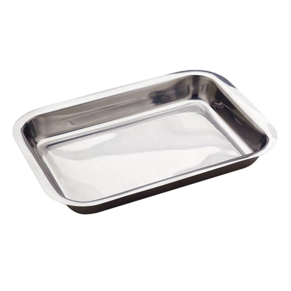 Norpro Roast Lasagna Pan - Stainless Steel, 16""