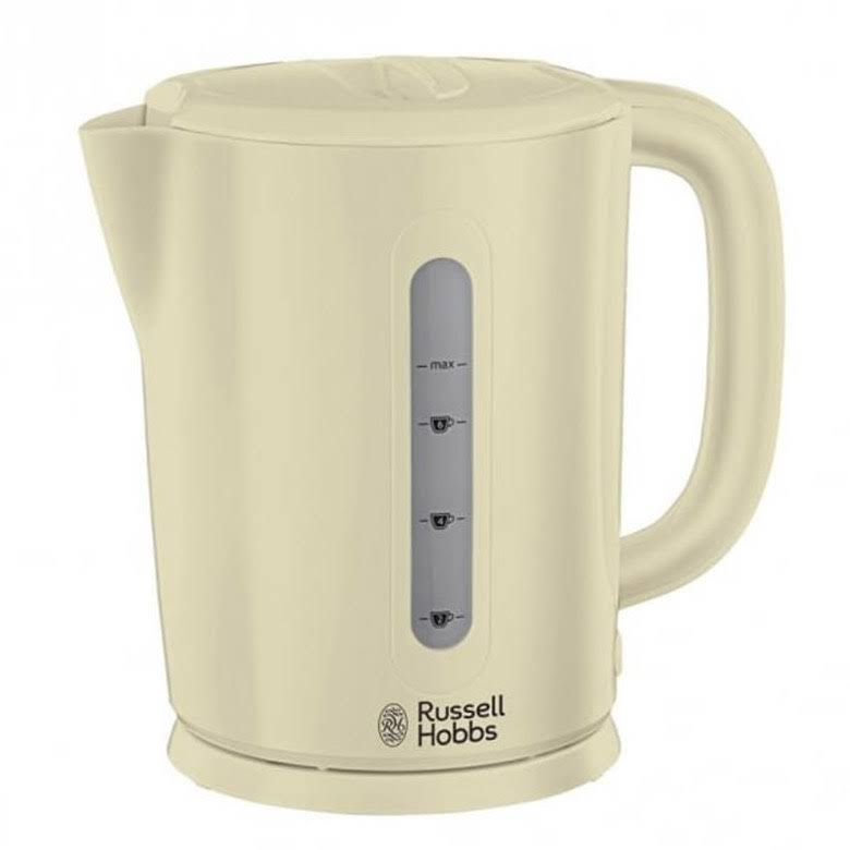 Russell Hobbs Kettle - Cream, 2200W, 1.7l