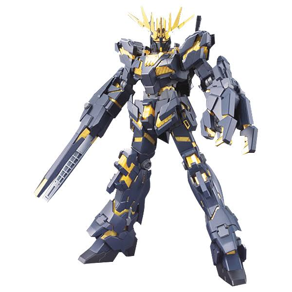 Gundam High Grade Universal Century 134 RX-0 Unicorn Gundam 02 Banshee Model Kit - 1:144 Scale