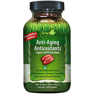 Irwin Naturals Anti-Aging Antioxidants Supplement - 60ct