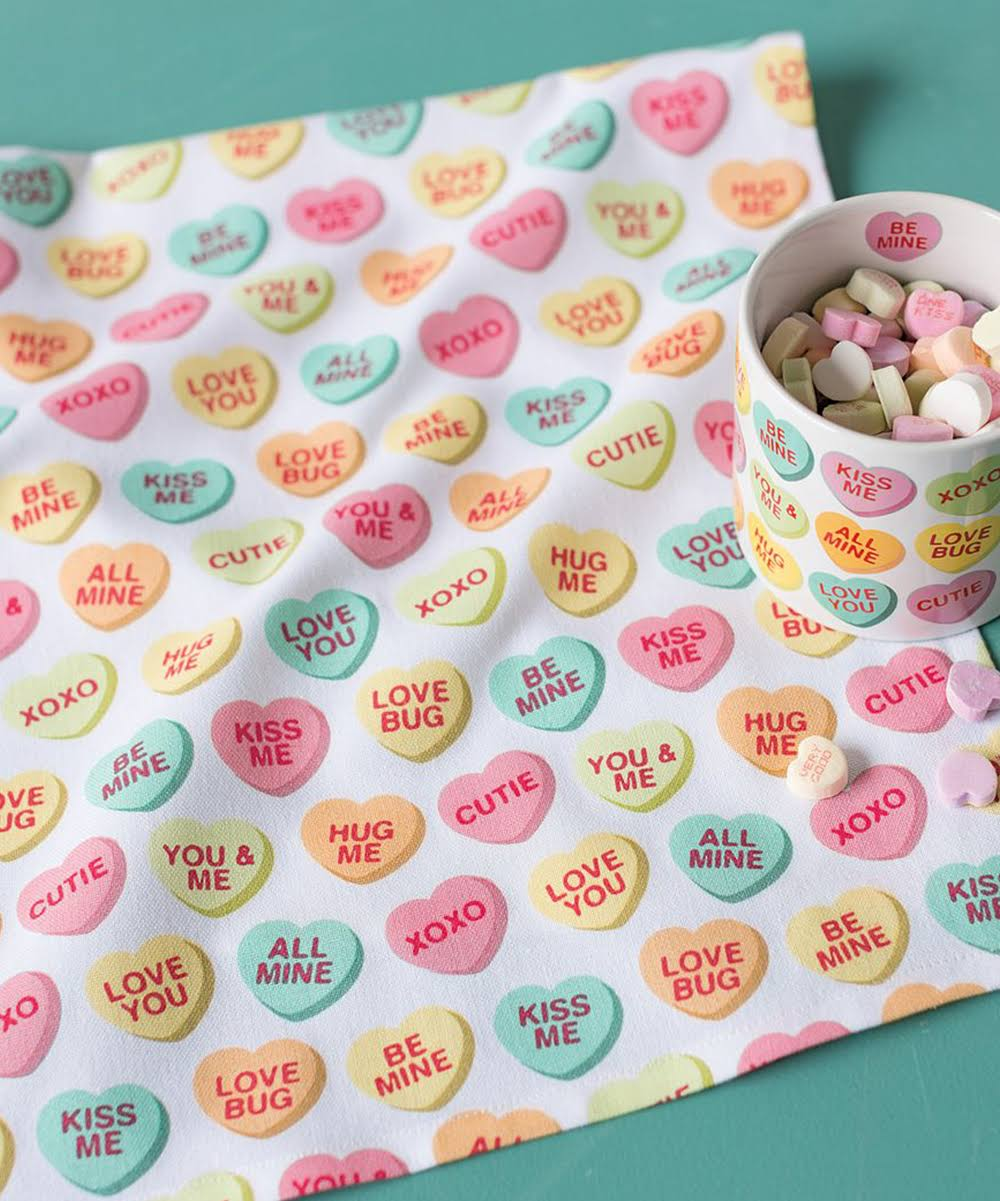 Now Designs Sweet Hearts Dish Towel - 2177283