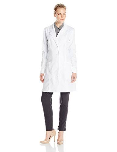 Cherokee Women's Lab Coat - White, XX-Large, 36""