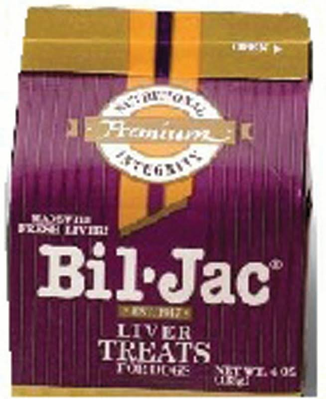 Bil-Jac Liver Treats for Dogs 4 oz