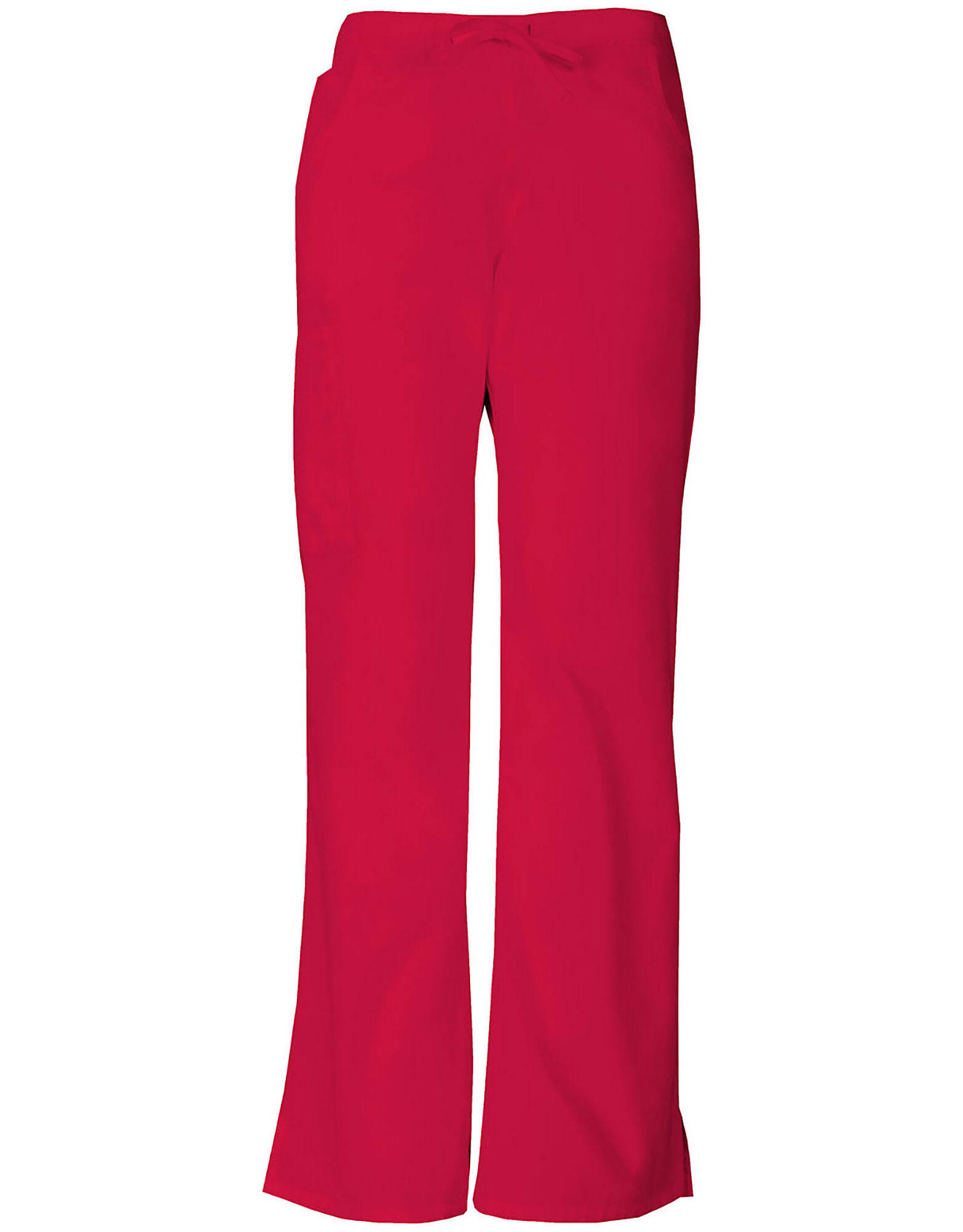 Dickies Womens EDS Signature Midrise Drawstring Cargo Pant - Red, X-Small