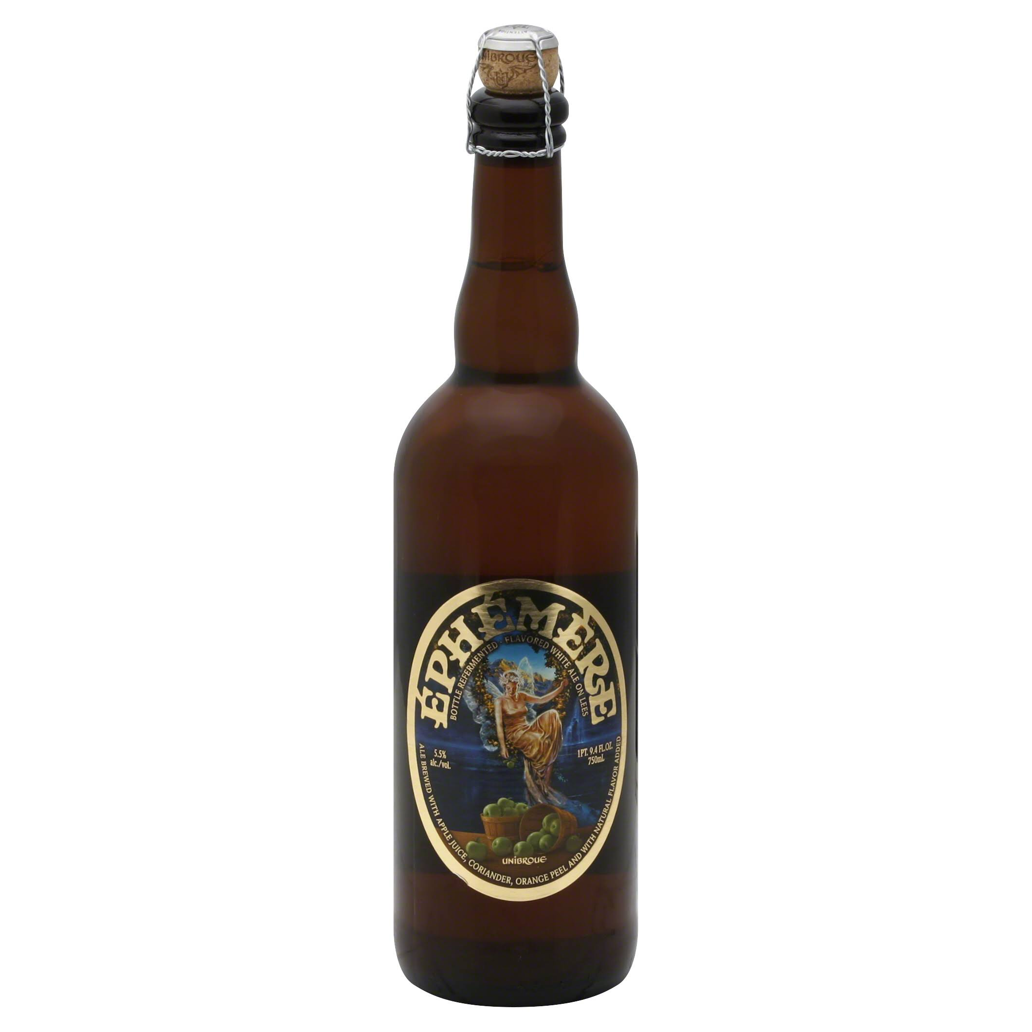 Unibroue Ephemere Apple Beer - 750ml