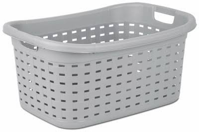Sterilite Weave Laundry Basket - Cement Color, 26""