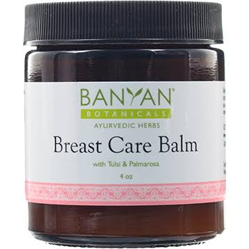 Banyan Botanicals Breast Care Balm - 4 oz