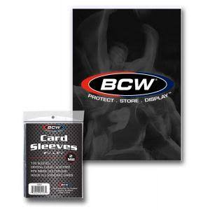 BCW Card Sleeves - 100 Pack