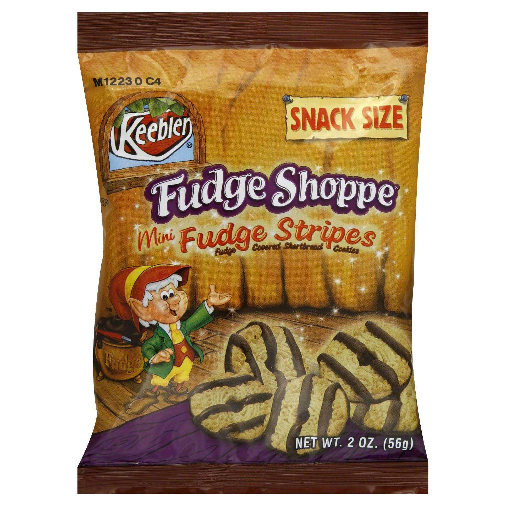 Keebler Mini Fudge Stripe Cookies - 56g