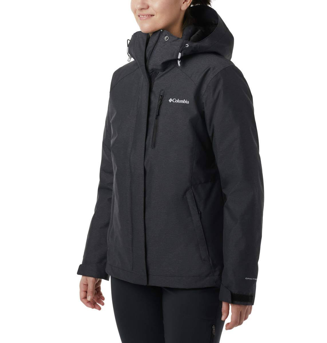 Columbia Women's Whirlibird IV Interchange Jacket - 3X - Black Crossdye