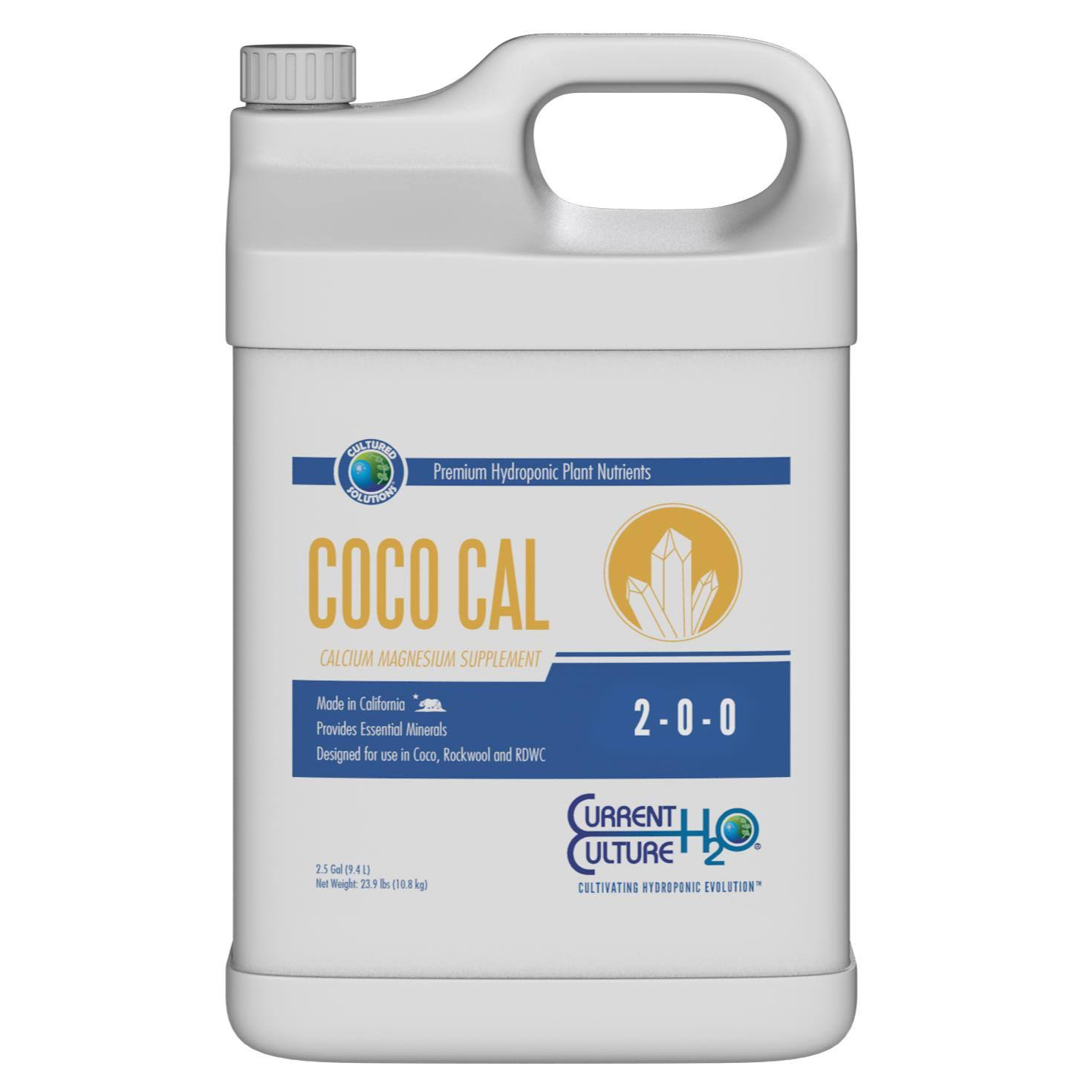 Cultured Solutions Coco Cal 2.5 Gallon