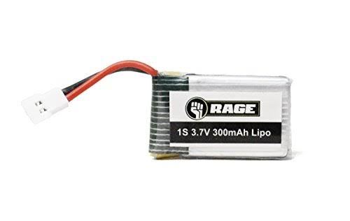 Rage RGR3060 Orbit FPV Lipo Battery - 3.7V, 300mah