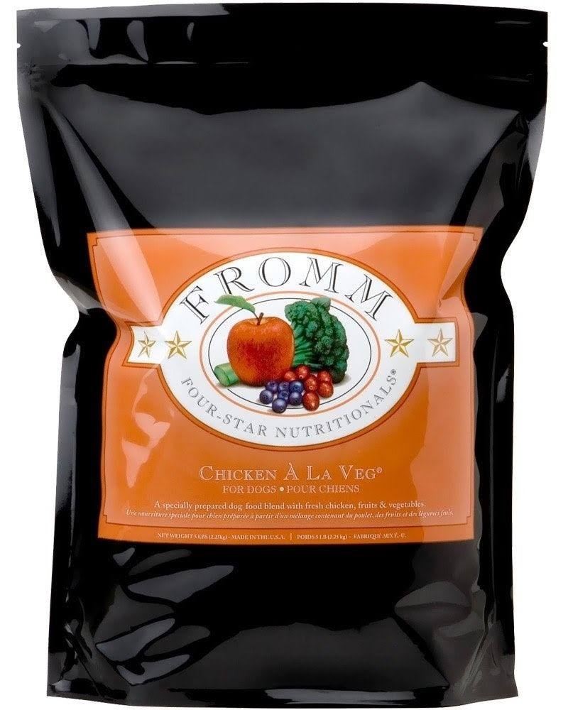 Fromm 4-Star Chicken A La Veg Dry Dog Food