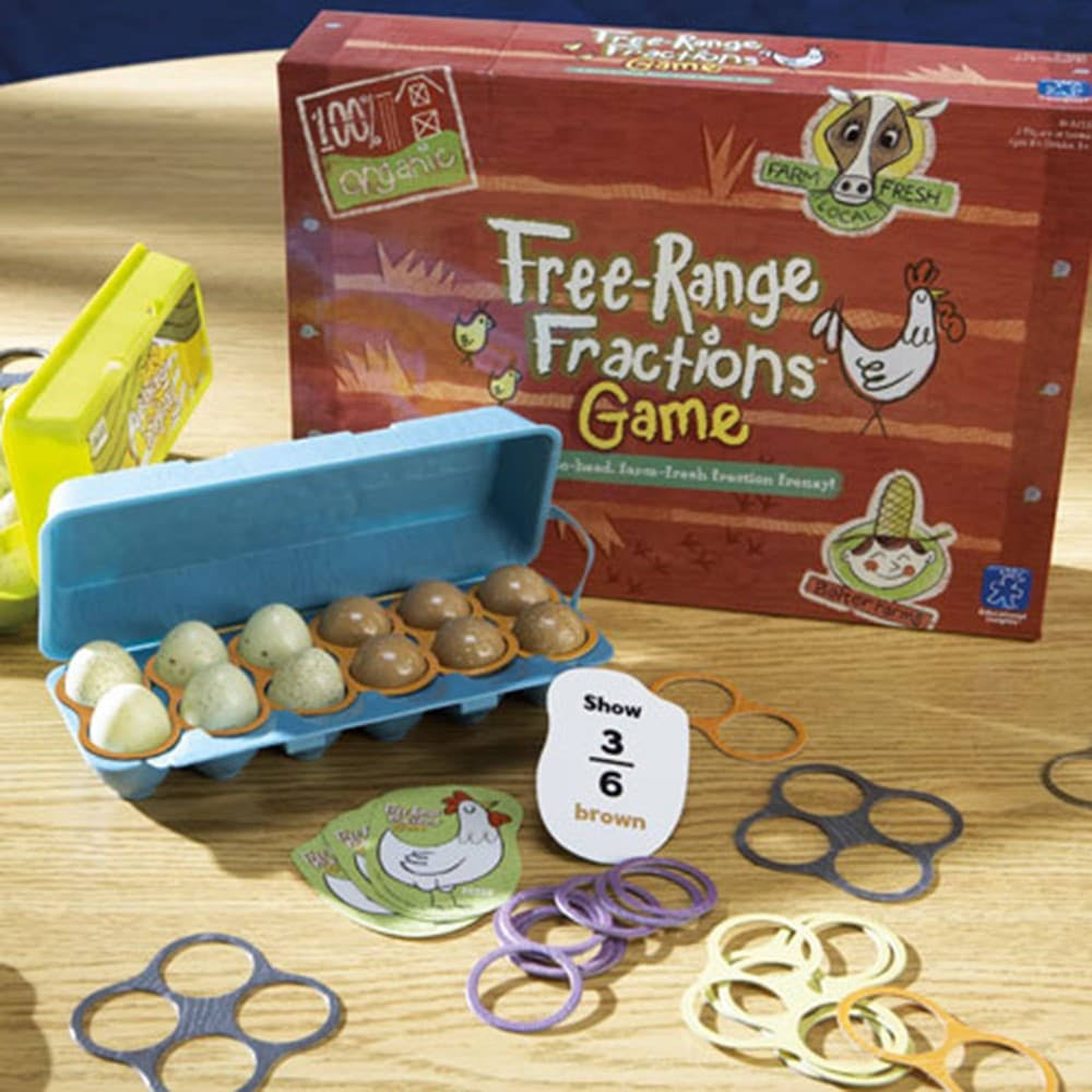 Learning Resources Free-Range Fractions Game